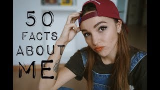 50 ФАКТОВ ОБО МНЕ || 50 FACTS ABOUT ME
