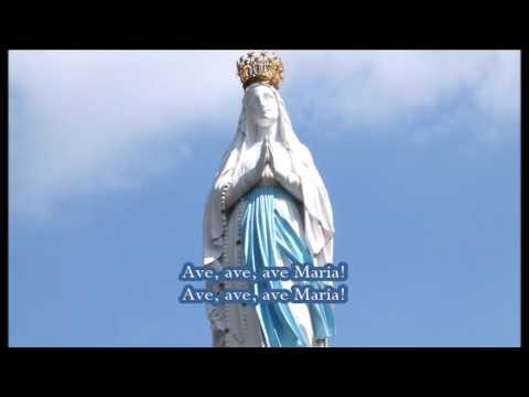 Te Lourdes op de bergen (Ave Maria de Lourdes)
