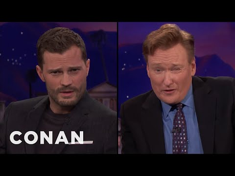 Jamie Dornan Teaches Conan How To Model  - CONAN on TBS