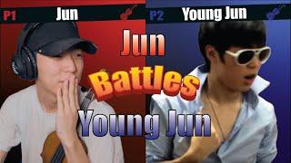 YOUNG JUN FLEXING ON JUN!
