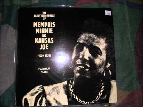 Memphis Minnie & Kansas Joe- Black Cat Blues (Vinyl LP)