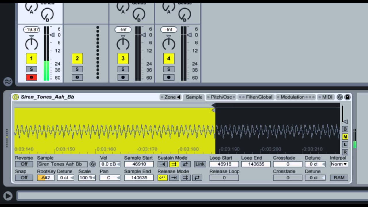 Creating an Ambient Pad from a Vocal Sample in Ableton Live 9