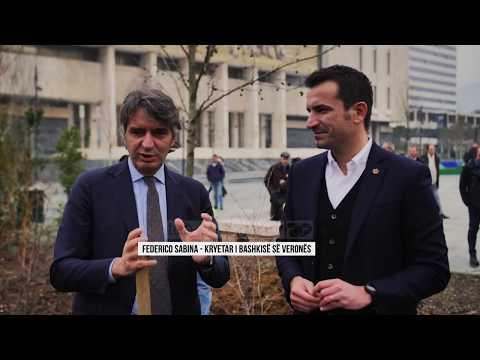Veliaj-Sboarina, bashkëpunim me Veronën - Top Channel Albania - News - Lajme