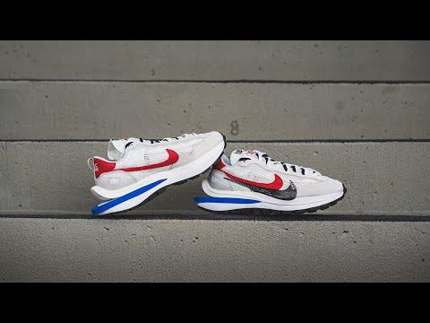 "Sacai x Nike Vaporwaffle ""Sail / Sport Fuchsia"": Review & On-Feet"