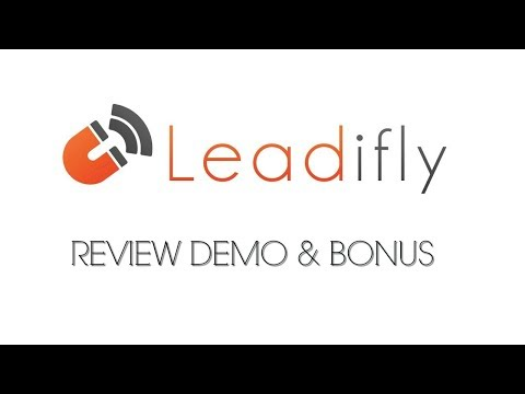 Leadifly Review Demo Bonus - Smart Plugin Generates One Click Leads with Facebook