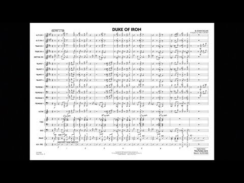Duke of Iron by Sonny Rollins/arranged by Mike Tomaro