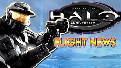 Halo:CE Anniversary PC Flight NEWS | Flight Now Out, Plus Zoom Glitch Fix