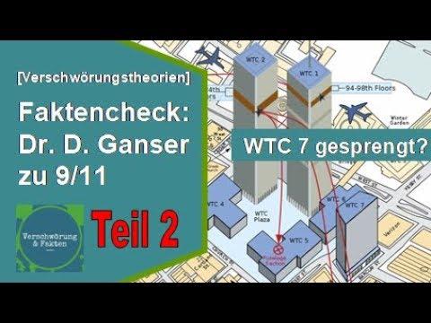 FAKTENCHECK (2): Dr. Daniele GANSER zu 9/11. WTC 7 - Sprengung oder Brand? [Verschwörungstheorien]