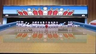 Playing the Wii (1) Wii Sports Resort-Bowling}{ Ft-KaiHits1)