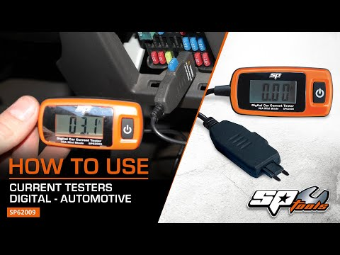 DIGITAL AUTOMOTIVE CURRENT TESTER - SP TOOLS (SP62008 & SP62009)