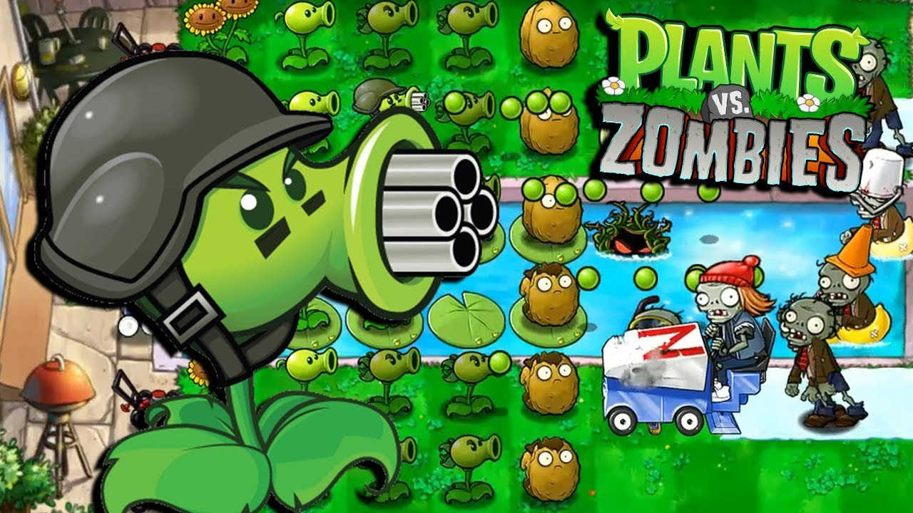 MI NUEVA PLANTA GUISANTRALLADORA - Plants vs Zombies - YouTube