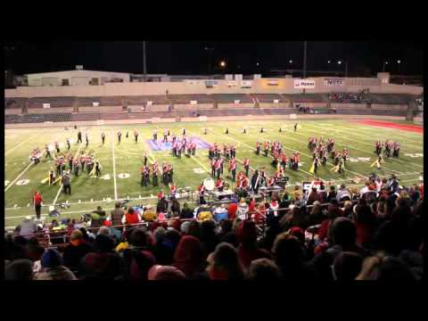 GM Marching Band 2010.  ELVIS. MUSIC IN MOTION