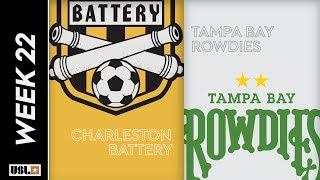 Charleston Battery Vs. Tampa Bay Rowdies August 3rd 2019