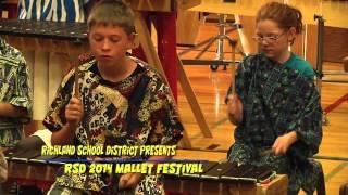 Marcus Whitman Elementary -  Mbira Jam