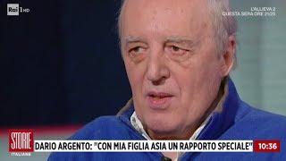 """Dario Argento: """"sempre Dalla Parte Di Mia Figlia Asia"""" - Storie Italiane 22/11/2018"""