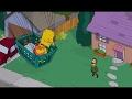 The Simpsons - Bart's balloon ride