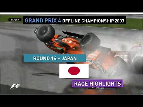 Grand Prix 4 OC 2007   Round 14   Japan   Race Highlights