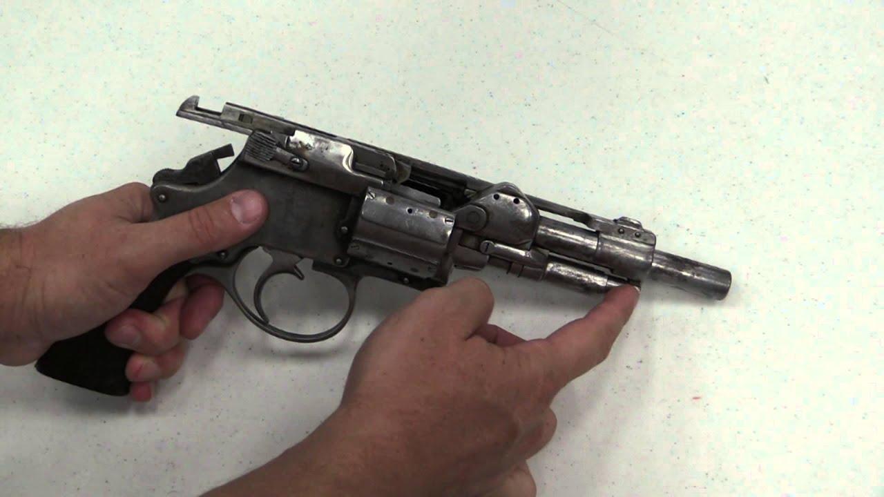 handmade auto revolver youtube