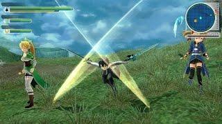 Sword Art Online: Lost Song Combat Gameplay