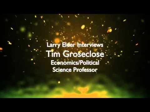 Larry Elder Interviews Tim Groseclose Economics/Political Science Professor