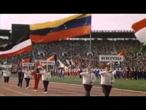 Открытие ХХII Олимпийских игр в Москве 1980 год.