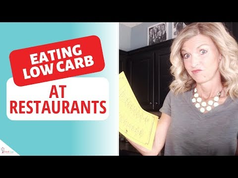 Eating Low Carb at Restaurants (7 Tips for Success!)