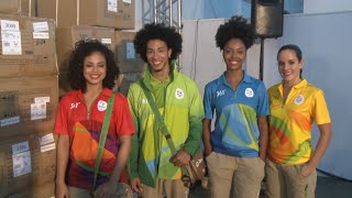 Official Uniforms for Rio 2016 Olympic and Paralympic Games Launched