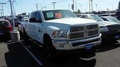 Lithia Dodge Spokane 2012 Ram 2500 Megacab Cummins