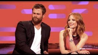 "Chris Hemsworth Wants to YouTube ""Dogging"" Videos - The Graham Norton Show"