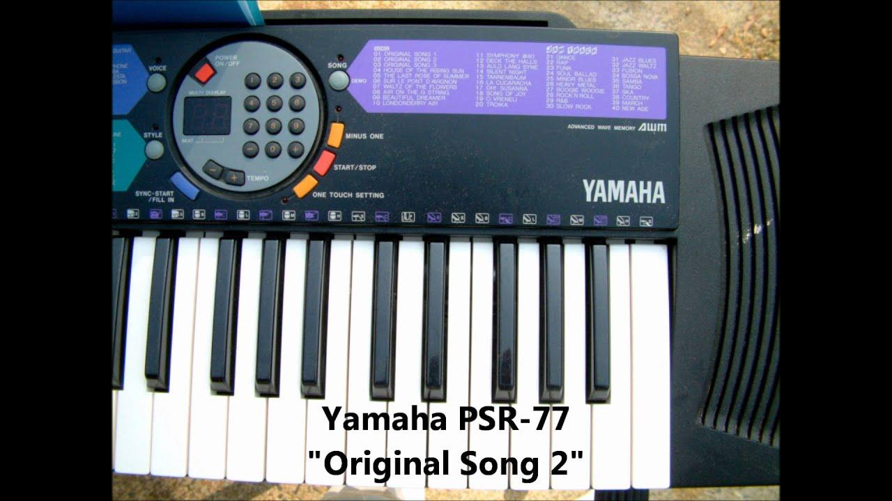 Yamaha  Keyboard Manual