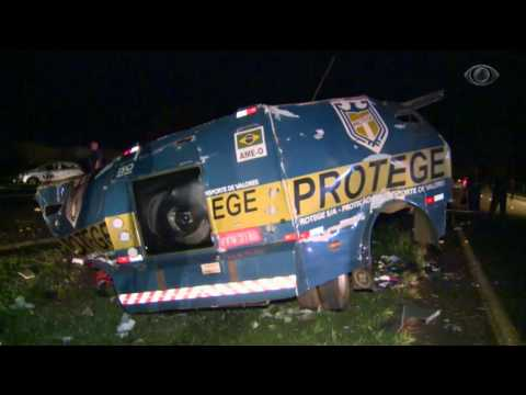 SP: Policial é morto por assaltantes de carro-forte