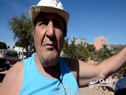 مغاربة وأجانب يتحسرون لحال العين السخونة بأكادير