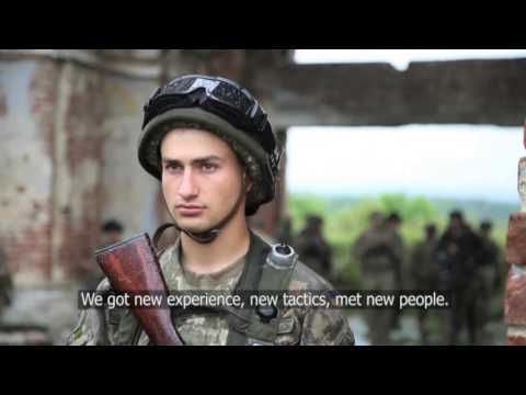Ukraine military training defend the country - Unravel Travel TV