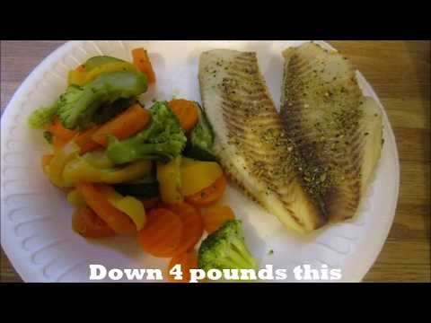 Weight Watchers Episode 2:  Easy Tilapia Recipe And Down 4 Pounds