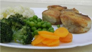 Сом с овощами / Fish with vegetables