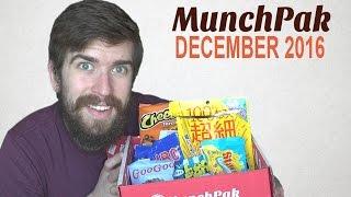 MunchPak Unboxing w/ DanQ8000 - December 2016
