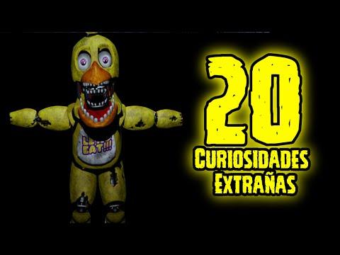 TOP 20: Las 20 Curiosidades Extrañas De Chica De Five Nights At Freddy's | fnaf