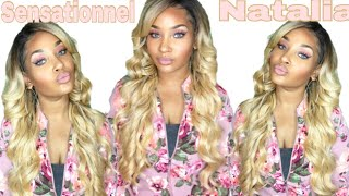 Sensationnel Natalia Wig Review| ft. Samsbeauty
