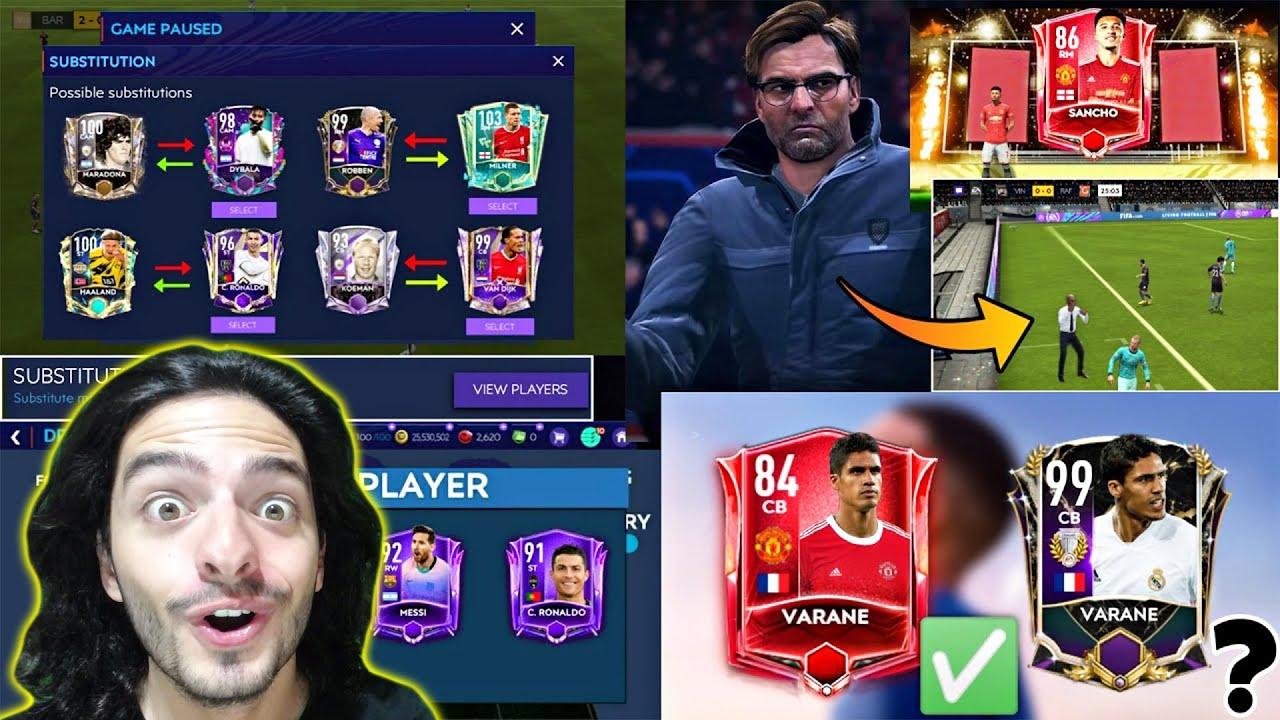 ŞU TARİHİ YENİ ÖZELLİKLERE BAK ! FIFA Mobile 22