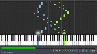 Bach - Invention 13 (BWV 784) - Piano Tutorial by PlutaX