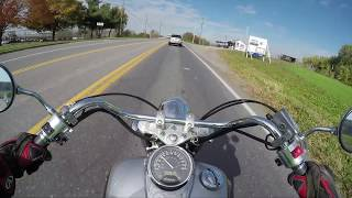 How fast is the Honda Shadow 750 0-60