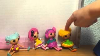 Лалалупси мультик для детей ШКОЛА 1 серия / Lalaloopsy School episode 1
