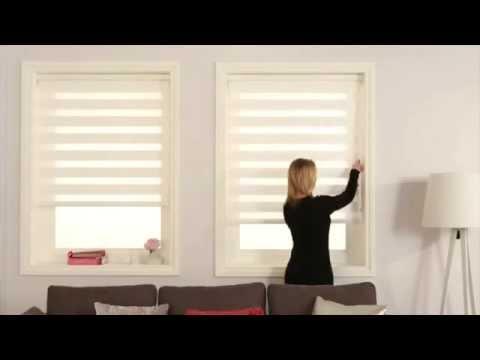Louvolite Vision Roller Blind Youtube