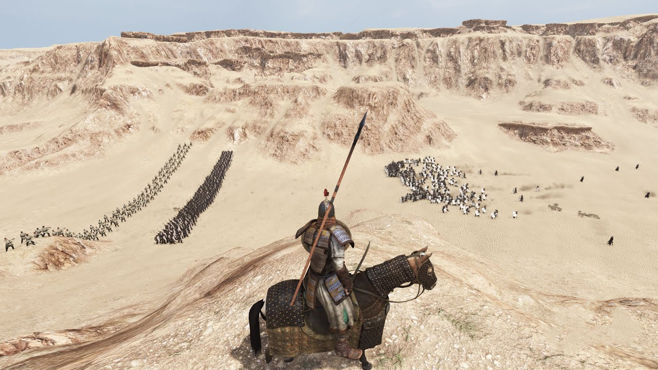 1000 MEN DESERT VALLEY BATTLE Mount & BLade 2 BANNERLORD