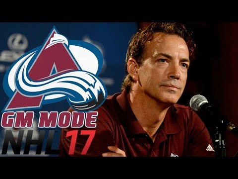 We Need Sakic Back - NHL 17 - GM Mode Commentary - Colorado ep. 18