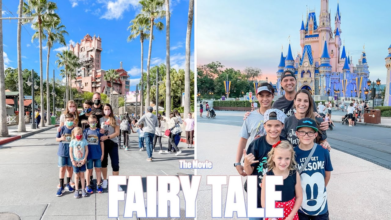 FAIRY TALE DISNEY WORLD FAMILY VACATION WITH STORYBOOK ENDING | THE MOVIE