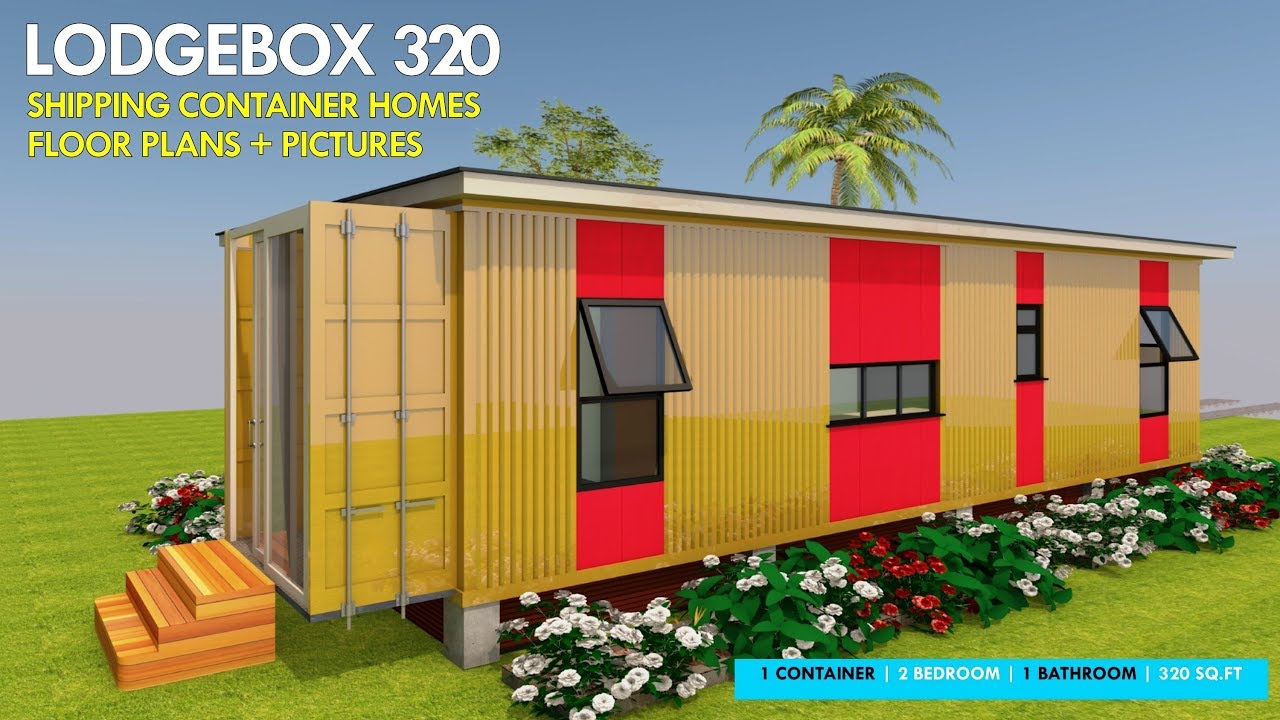 Shipping Container HOMES PLANS and MODULAR PREFAB Design Ideas | LODGEBOX  320