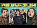 College Kids React to #InvisiblePrank Ch