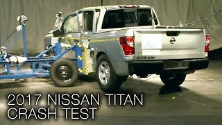 2017 Nissan Titan (Crew Cab) Side Crash Test