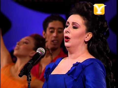 Obertura 2º Noche con Verónica Villarroel, Festival de #ViñadelMar 2009